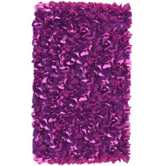 The Rug Market Shaggy 02288B Plum Purple