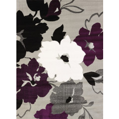 United Weavers Of America - Cristall Snow Blossom  Plum