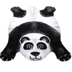 Walk On Me - Panda Bear Playmat Black, White And Gray