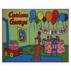 Fun Rugs - Curious George Cg-03 Multi-Color