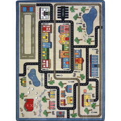 Joy Carpet - Tiny Town Kid Essentials - Active Play & Juvenile Pewter