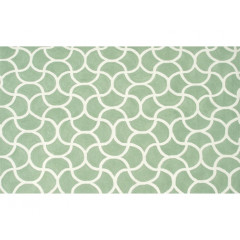 The Rug Market Mermaid 25432D Green White