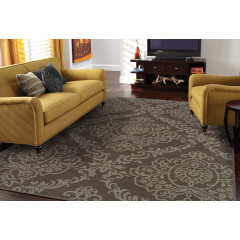 Oriental Weavers Rugs BALI B8424P Grey/ Blue