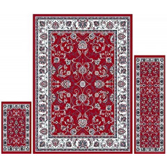 Home Dynamix - Ariana HD812-215 Red-Ivory
