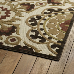 Kaleen Rugs Home and Porch Collection 2042-40 Chocolate