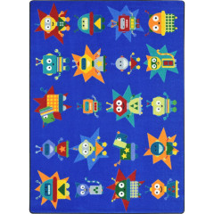 Joy Carpet - Robot Invasion Kid Essentials - Early Childhood Multi