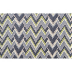 The Rug Market Grey Vector 25493D Grey Green Crm