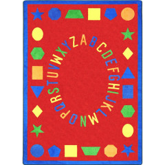 Joy Carpet - First Lessons Kid Essentials - Early Childhood Red