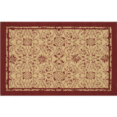The Rug Market Heritage 25408D Red Khaki