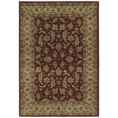 Kaleen Rugs McAlester Collection MCA04-04 Burgundy