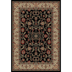 Mayberry Rugs Home Town HT7913 Classic Keshan Ebony