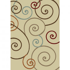 Concord Global - Chester SCROLL Ivory