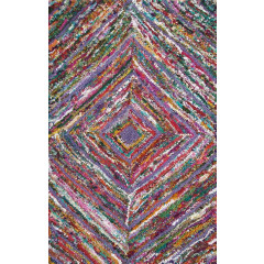 The Rug Market Anthro 03617B Purple Multi