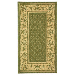 Safavieh - Courtyard CY0901 Olive-Natural