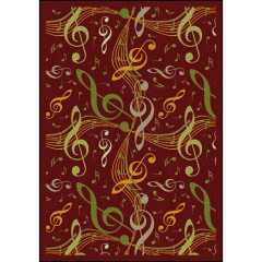 Joy Carpet - Virtuoso Kid Essentials - Music & Special Needs Burgundy