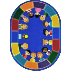 Joy Carpet - All Of Us Together Kid Essentials - Geography & Environment Multi