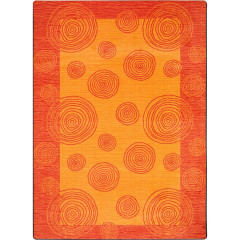Joy Carpet - Whimzi Kid Essentials - Teen Area Rugs Orange