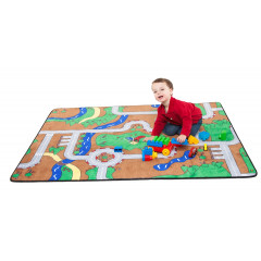 Learning Carpet - Cut Pile Building Blocks  Multi