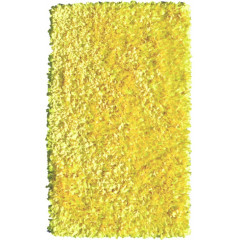 The Rug Market Shaggy 02290B Yellow Neon