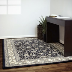 Dynamic Rugs ANCIENT GARDEN AN571203464 Blue/Ivory