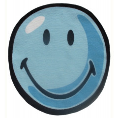 Fun Rugs - Smiley World Sw-11 Blue