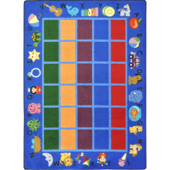 Joy Carpet - Alphabet Phonics Kid Essentials - Early Childhood Blue