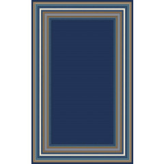 Central Oriental - Tributary Harold Navy-Blue