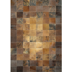 Couristan Rugs CHALET TILE 03481579 BROWN