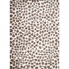 Concord Global - Shaggy LEOPARD Ivory