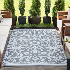 Tayse Rugs Sunset Carrero SUN1603 Gray