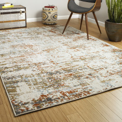 Kaleen Rugs Global Inspiration Collection GLB08-01 Ivory