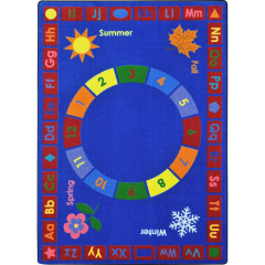 Joy Carpet - Learning Time Kid Essentials - Early Childhood Multi