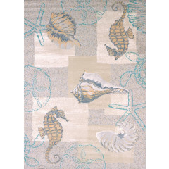 United Weavers Of America - Modern Textures Mystic Sea  Natural
