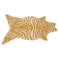 The Rug Market Zebra 25384D Yellow White