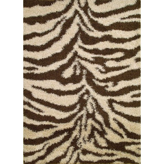 Concord Global - Shaggy ZEBRA Natural