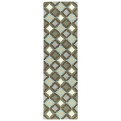 Kaleen Rugs Imprints Modern Collection IPM04-78 Turquoise