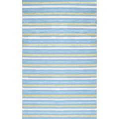 The Rug Market Pinstripe 71200D Blue