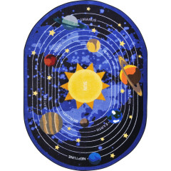 Joy Carpet - Cosmic Wonders Kid Essentials - Geography & Environment Black