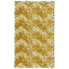 The Rug Market Shaggy 02285B Yellow