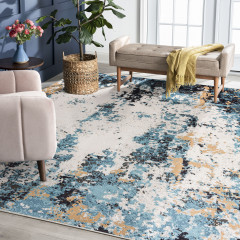 Tayse Rugs Anabel Asher ANB1306 Teal